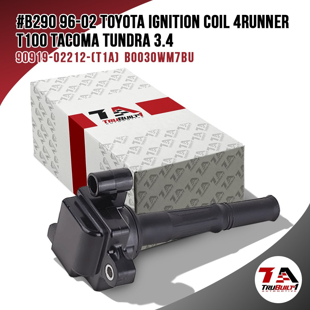 Trubuilt 1 Automotive Toyota 9091902212 Ignition Coil Uf 156 610 2000 4runner 58425 Am 17278376 Replacement For 34 V6 96 00 01 02 T100