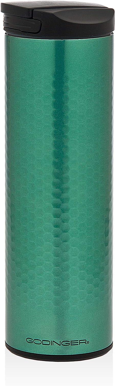 Travel Mug Flip Top Beverage Tumbler – Green - 17 oz