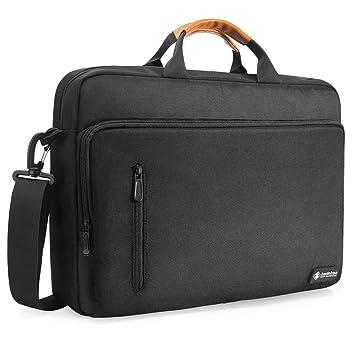 c560552154 tomtoc 15-15.6 Pouces Sac Bandoulière pour Ordinateur Portable  Multifonction Sacoche pour MacBook Pro 15