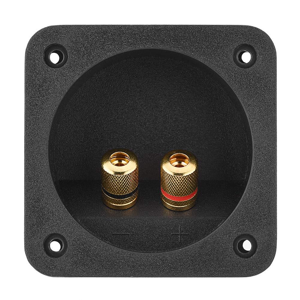DIY Home Caja de Altavoces est/éreo para Coche con Conectores de Resorte Cuadrados y componentes ac/ústicos