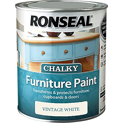 Ronseal RSLCFPVW750 - 750 ml, pintura de tiza para muebles, color ...