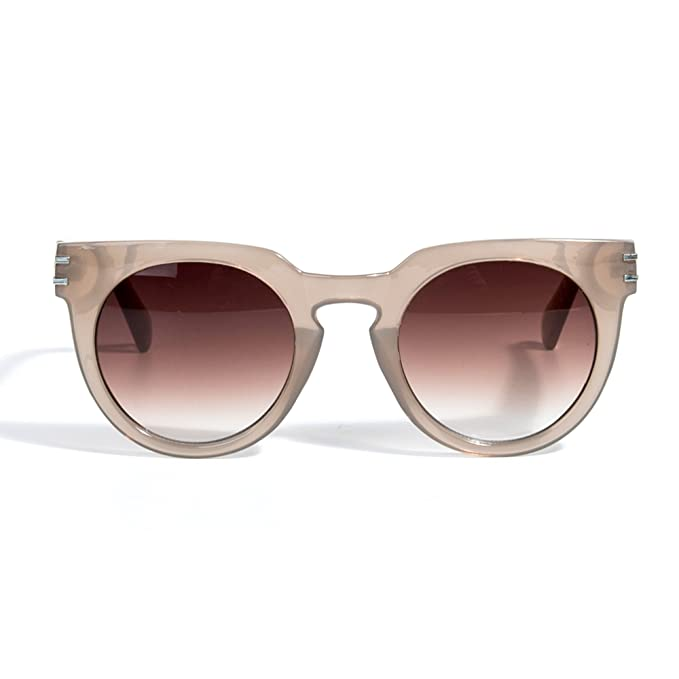 Parfois - Gafas Turtle - Mujeres - Tallas M - Nude: Amazon ...