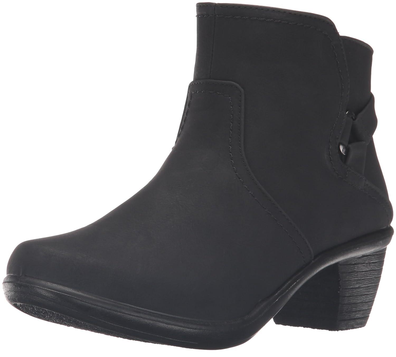 Easy Street Women's Dawnta Ankle Bootie B01JQJY5FQ 12 W US|Black Matte