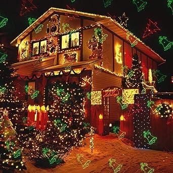 Extérieur Lumière Laser Projecteur Noël Lumière DEL FETE Maison Décoration Fête
