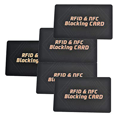 Amazon.com: Tarjeta de bloqueo RFID NFC sin contacto ...