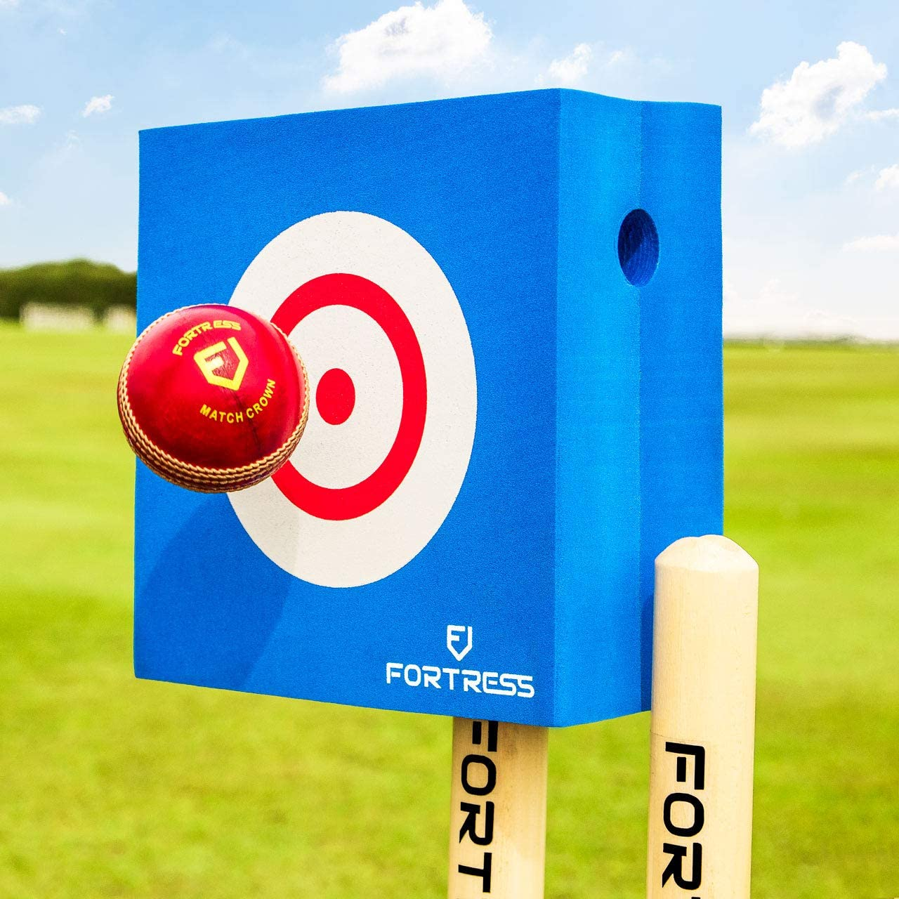 Fortress Foam Bowling Target Cricket Bowling Accuracy Practice Drills
