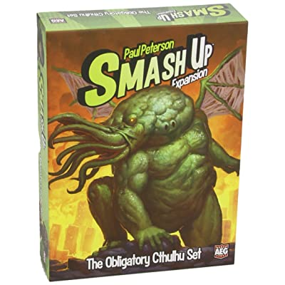 Alderac Entertainment Group Smash Up: The Obligatory Cthulhu Expansion: Toys & Games