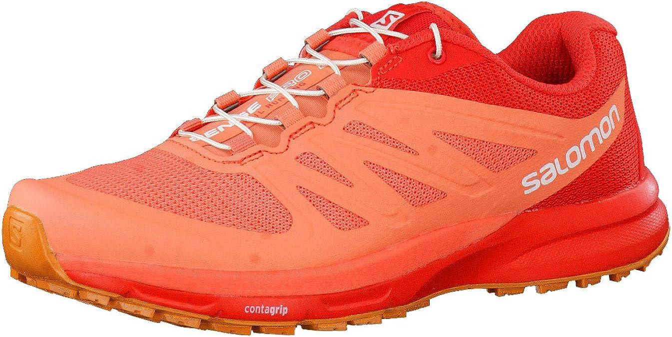 Salomon Sense Pro 2 W, Zapatillas de Trail Running para Mujer, Naranja (Living Coral/Poppy Red/Bright Marigold), 36 EU: Amazon.es: Zapatos y complementos