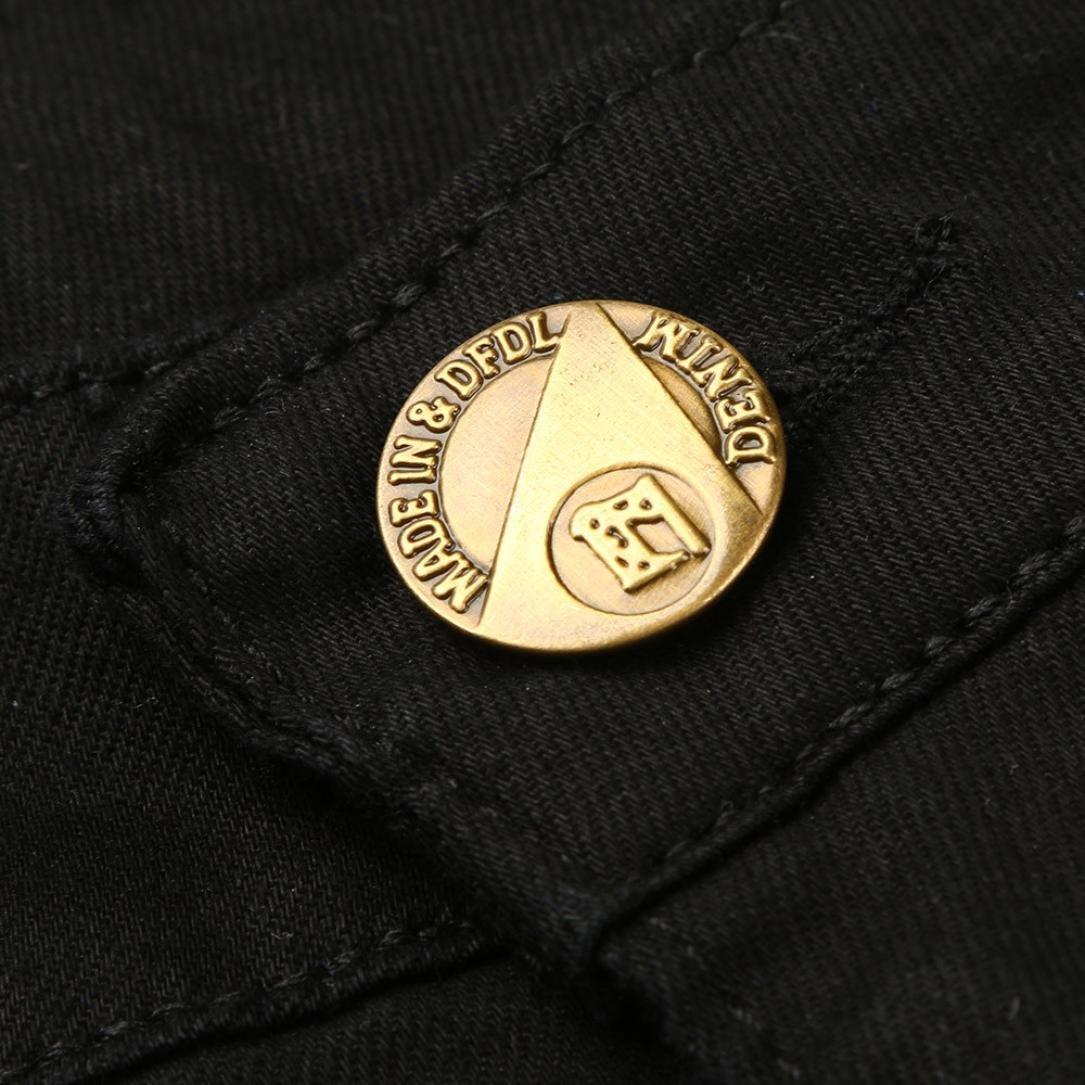 25bfd8b15f294 LuckyGirls Pantalones Vaqueros Hombres Rotos Pitillo Originales Slim Fit  Skinny Pantalones Casuales Elasticos Agujero Pantalón Personalidad ...
