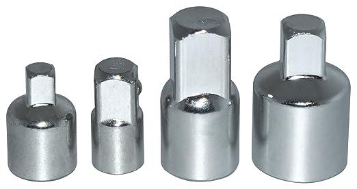 4 opinioni per Am-Tech- Set di raccordi riduttori in acciaio per chiavi a bussola, 4 pezzi,