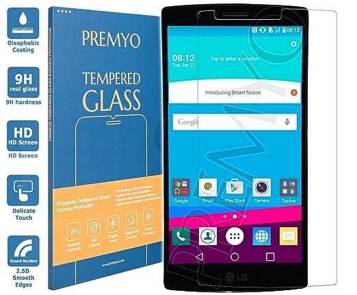 93 opinioni per PREMYO vetro temperato LG G4. Pellicola vetro temperato LG G4 con una durezza di