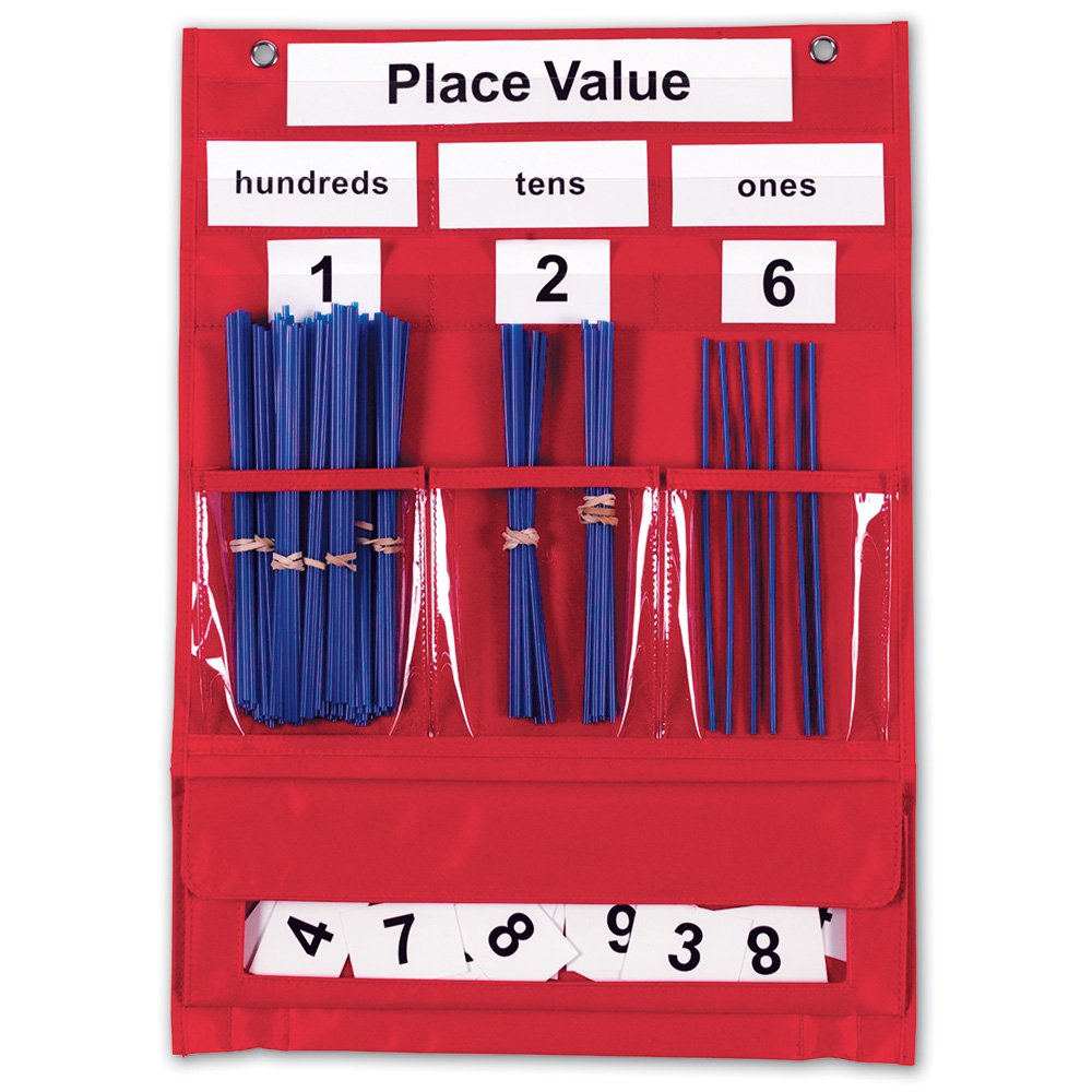 Amazon learning resources counting amp place value pocket amazon learning resources counting amp place value pocket chart office products nvjuhfo Choice Image