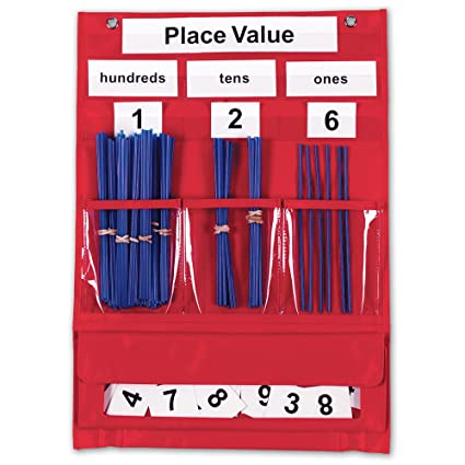 Amazon.com: Counting & Place Value Pocket Chart: Office Products