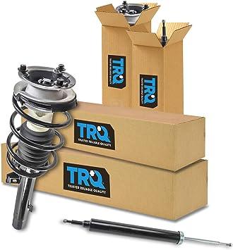 Front Complete Loaded Strut Spring Assembly Rear Shock Absorber Kit Set 4pc Rear Wheel Drive