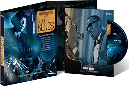 Pack: The Blues (4 DVDs): Amazon.es: Taj Mahal, Marcia Ball, Ray Charles, Dr. John, Clint Eastwood, Pinetop Perkins, Nick Cave, Martin Scorsese, Clint Eastwood, Wim Wenders, Mike Figgis, Marc Levin, Charles Burnett,