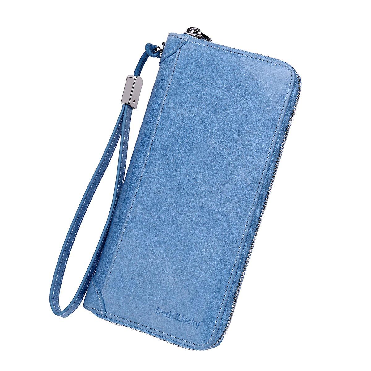 Women Leather Wallet Rfid...