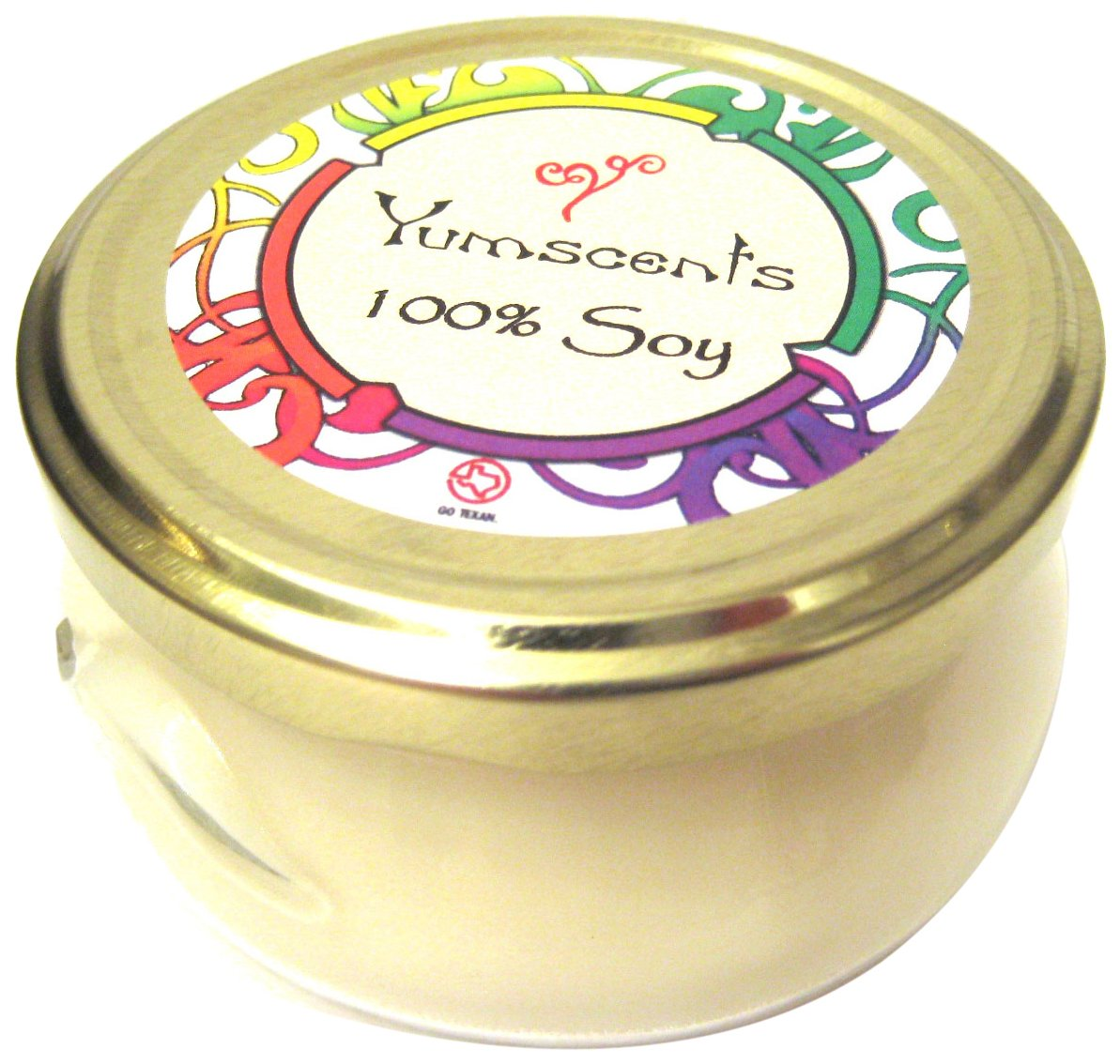 10-Ounce Peppermint Eucalyptus Yumscents Tureen Soy Candle