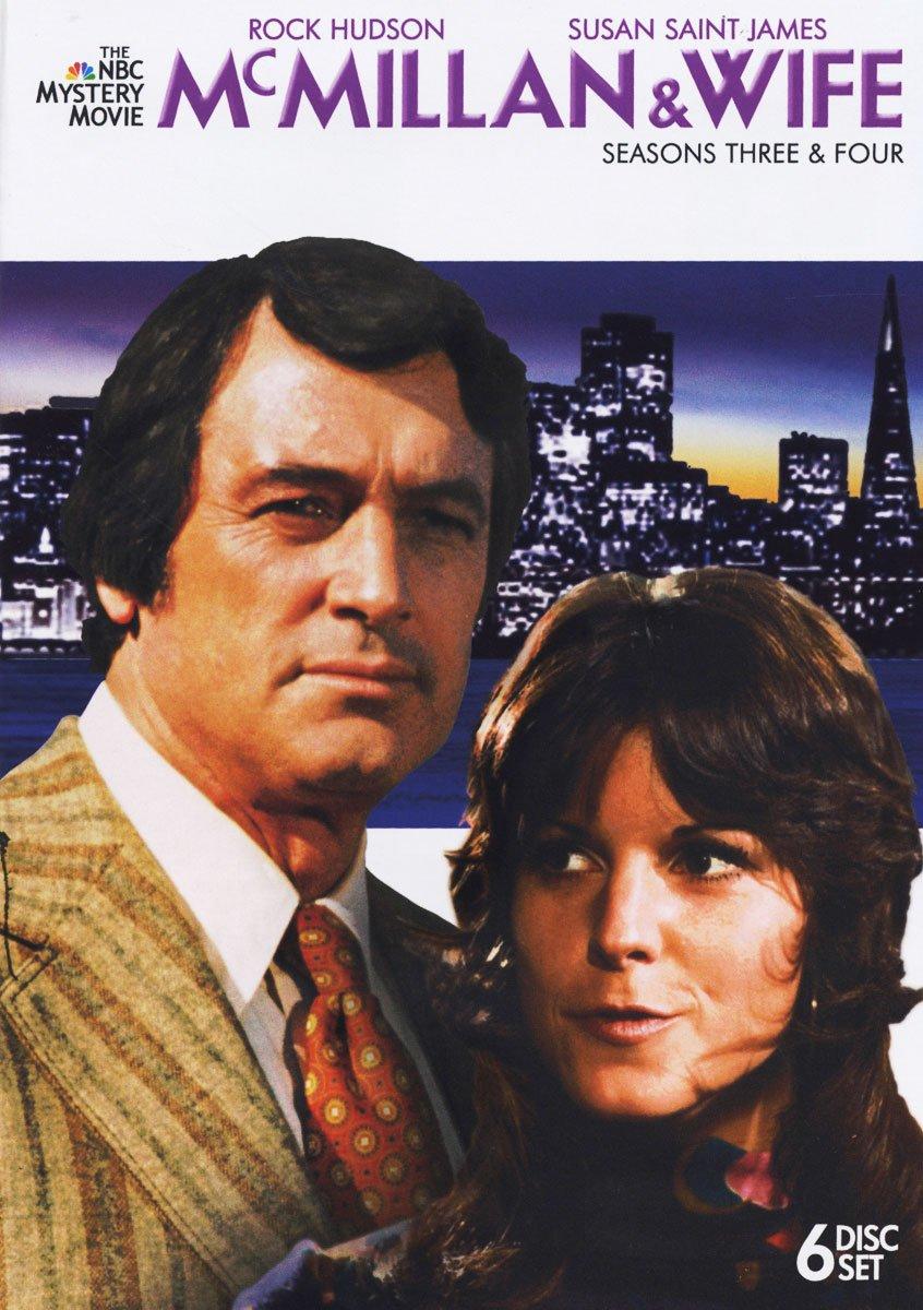 DVD : Mcmillan & Wife: Seasons Three & Four (DVD)