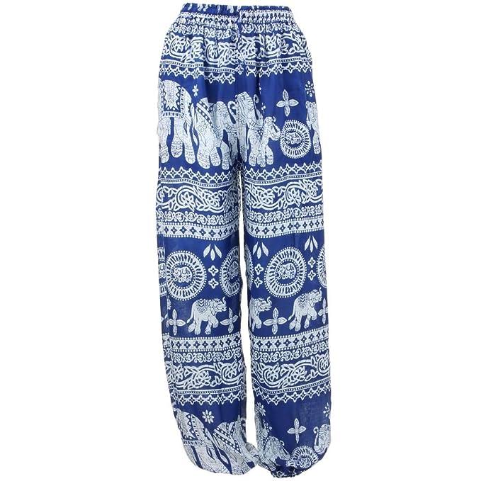 Elephant Trousers Pants Harem Ali Baba Aladdin Yoga Lounge Hippie Geometric