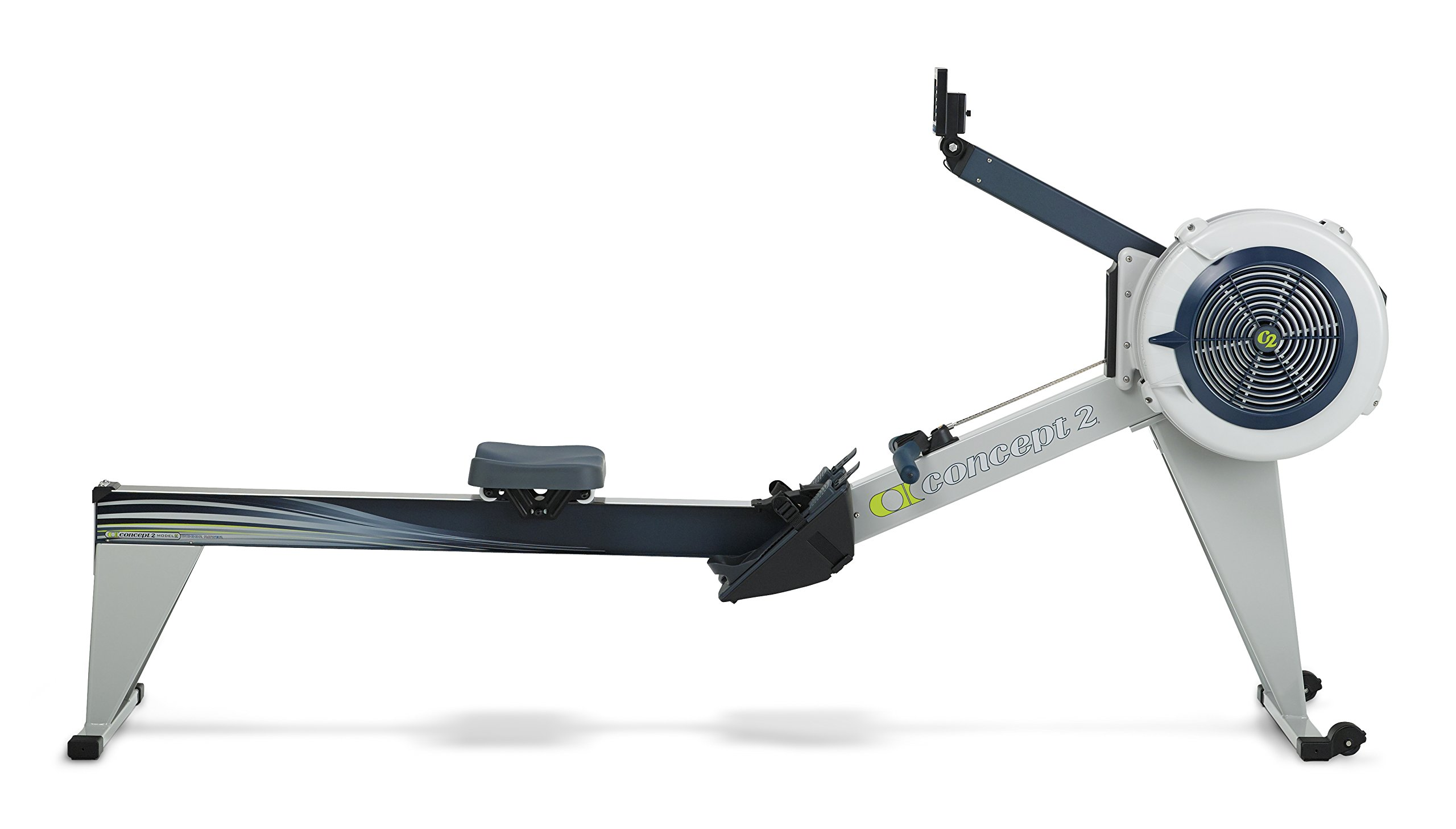 Concept2 Model E with PM5 Performance Monitor Indoor Rower Rowing Machine Gray by Concept2 (Image #2)