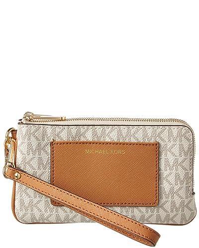 3719cc928c3ef MICHAEL Michael Kors Bedford Medium Double Zip Wristlet: Handbags ...