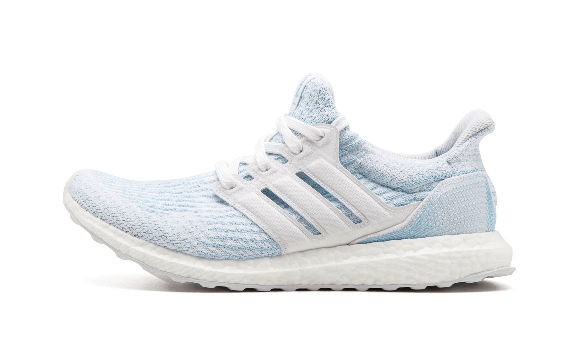 71b40bf0ed7 Galleon - Adidas Ultraboost 3.0 Parley Shoe - Men s Running 4 Cloud White Icey  Blue