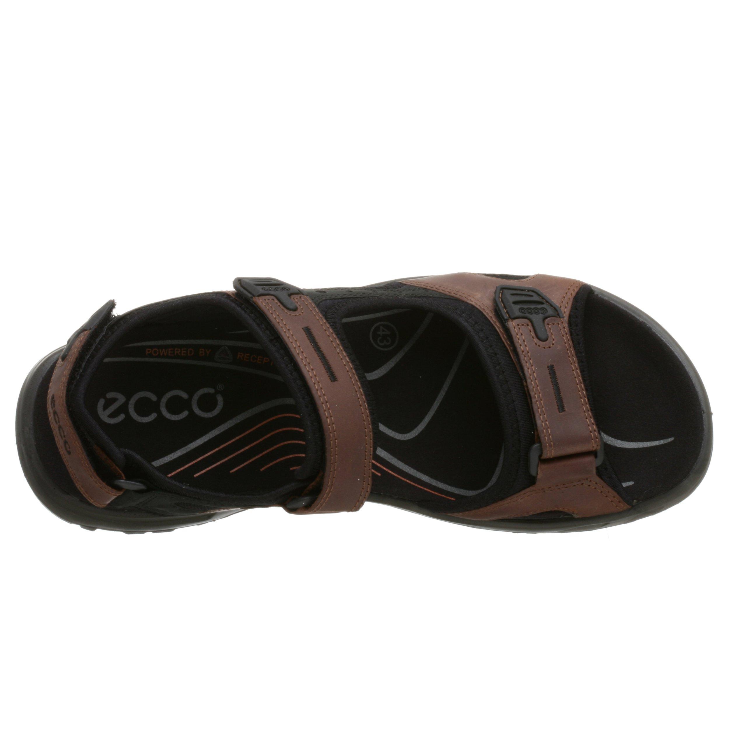 ECCO Men's Yucatan Sandal,Bison/Black/Black,44 EU (US Men's 10-10.5 M) by ECCO (Image #7)
