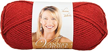 Lion Brand Vanna's Choice Yarn (133), Brick