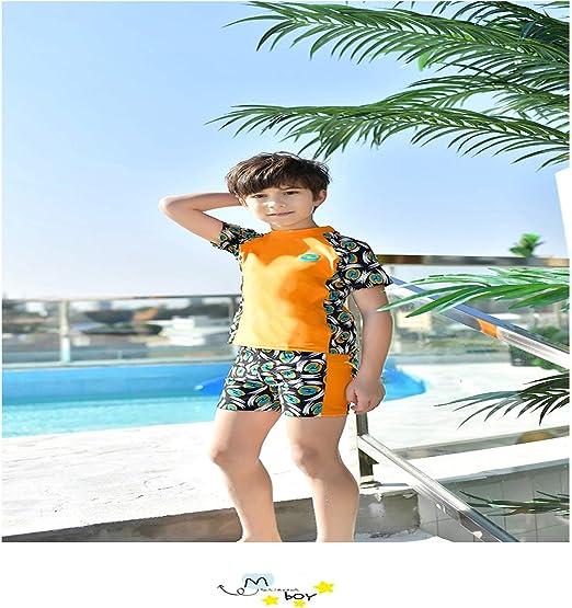 Children Boy/'s Swimming Trunks Swim Shorts Soft Smooth Training Swimwear Nylon