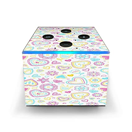 Amazon com: Skin Decal Vinyl Wrap for Amazon Fire TV Cube & Remote