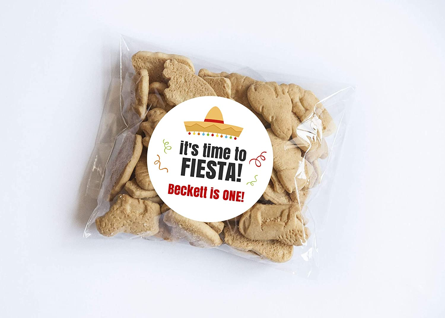 Time to Fiesta Stickers Set of 20