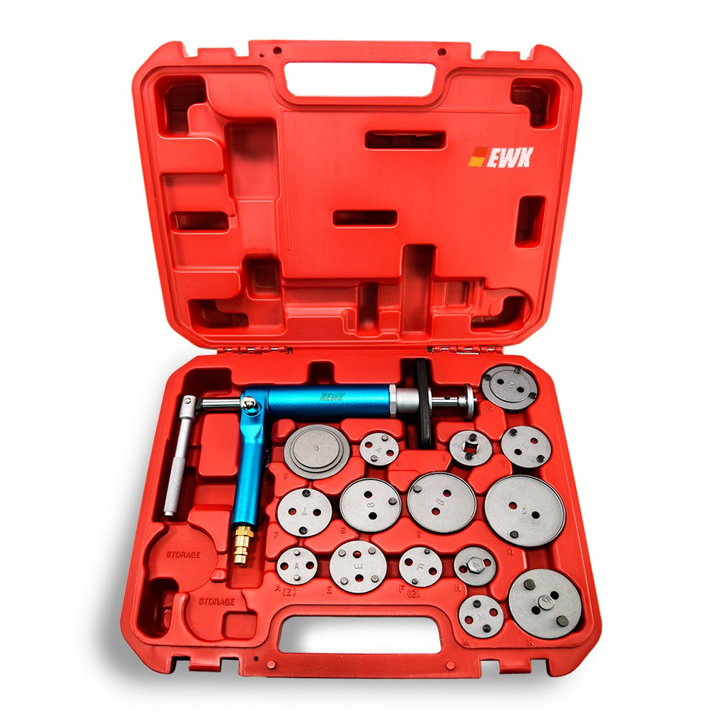 EWK Air Brake Caliper Piston Compressor Master Tool Kit FBA_EB0016