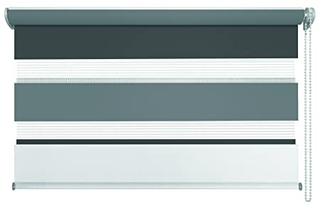 Mydeco Klemmfix Double Blinds Just Triple Grey Anthracite 140