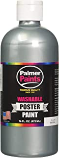 product image for Washable Metallic Poster Paint 16oz, Silver