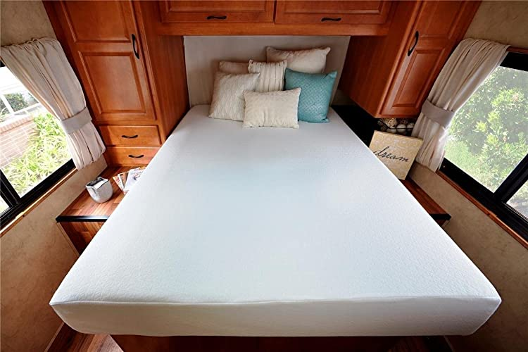 Zinus Ultima Comfort Memory Foam 8 Inch Mattress, Short Queen