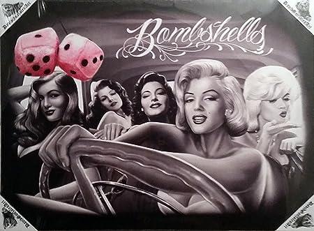 Diseño de David DGA Gonzales Josephine kimberling Marilyn Monroe ...