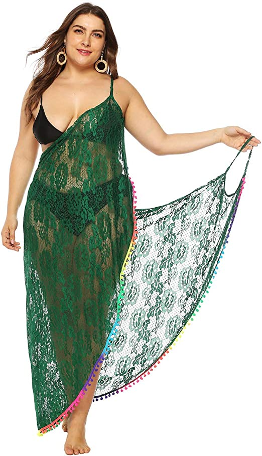free-size holiday pool Summer pink,peach,green, beach ladies cover up kaftan