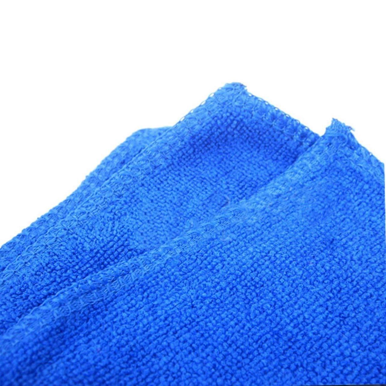 WOSOSYEYO Lavage de Voiture en Microfibre Serviette Nettoyage Automobile S/échage Rapide Chiffon Entretien de la Voiture ourlage Absorption Eau Serviette Lavage