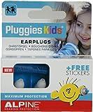 アルパイン Pluggies Kids 子供用耳栓&大人用小さいサイズ耳栓 名前シールつき [並行輸入品]