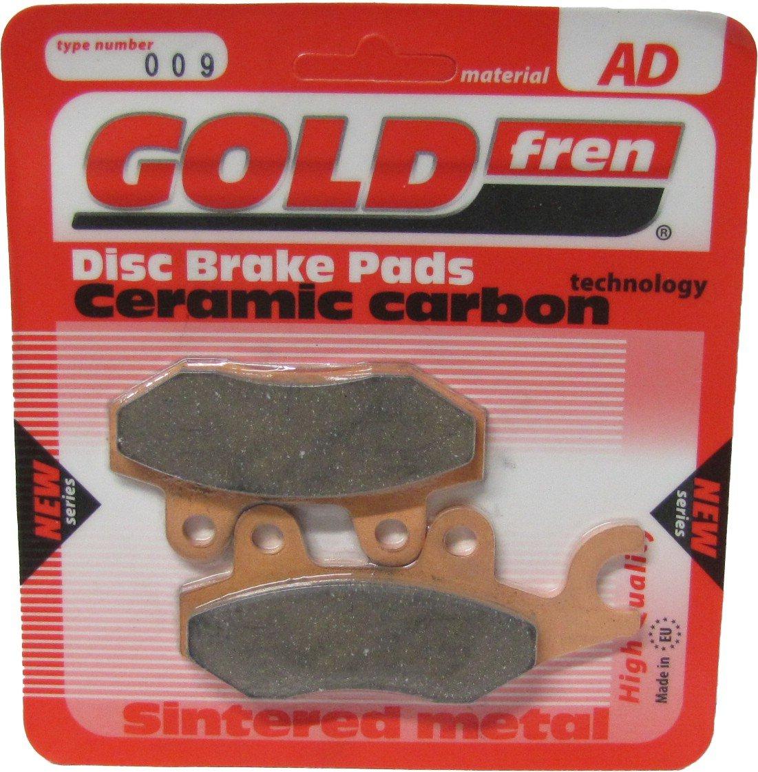 Front Right 2007-2011 Brake Disc Pads Goldfren UK Suzuki AN 400 Burgman Pair