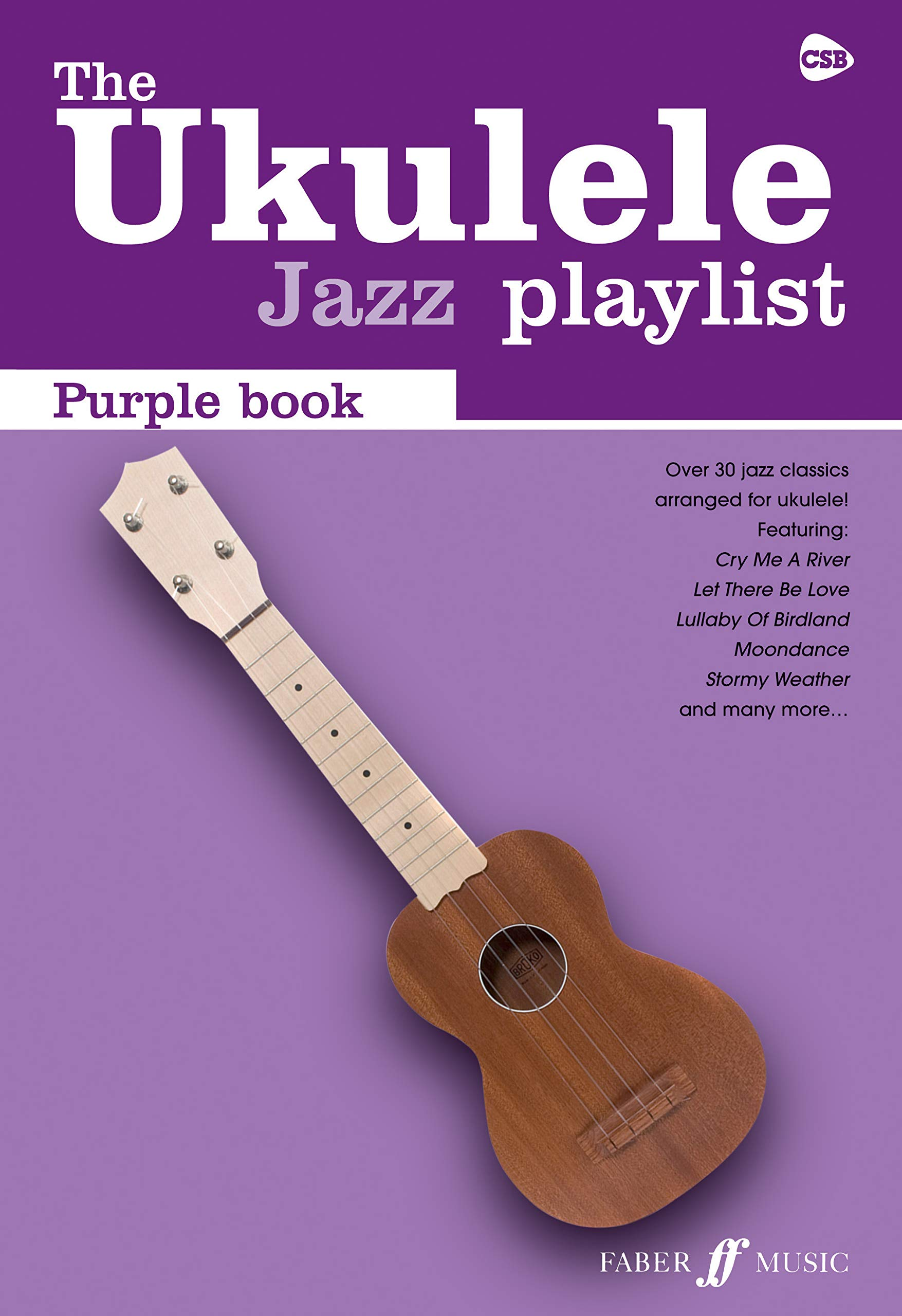 The Ukulele Jazz Playlist Purple Book Ukulele Chord Songbook ...