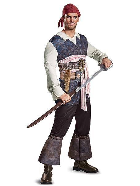 Amazon.com: Disney potc5 de los hombres Capitán Jack Sparrow ...