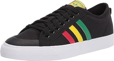 Estados Unidos Estadísticas Horizontal  Amazon.com | adidas Originals Men's Nizza Sneaker | Fashion Sneakers