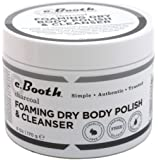 c.Booth Charcoal Foaming Dry Body Polish and Cleanser, 6 Ounce