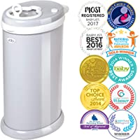 Ubbi Steel Diaper Pail, Grey