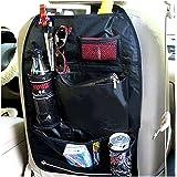 【シートのデッドスペースをフル活用】 ヘッドレストに簡単取り付け 車載 収納 ポケット KURUPOKE:クルポケ 小物入れ 大容量 シートバック