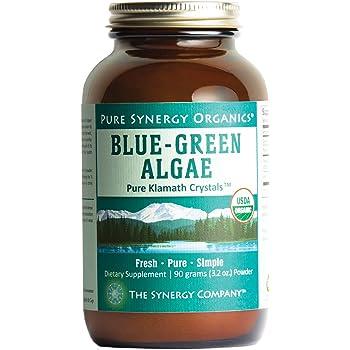 Amazon Com Pure Synergy Usda Organic Klamath Blue Green