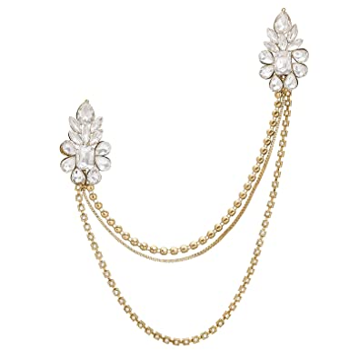 f5f7bfb8f6f Buy The Luxor Designer Alloy Saree Brooch For Women(ACC6117) Online at Low  Prices in India | Amazon Jewellery Store - Amazon.in