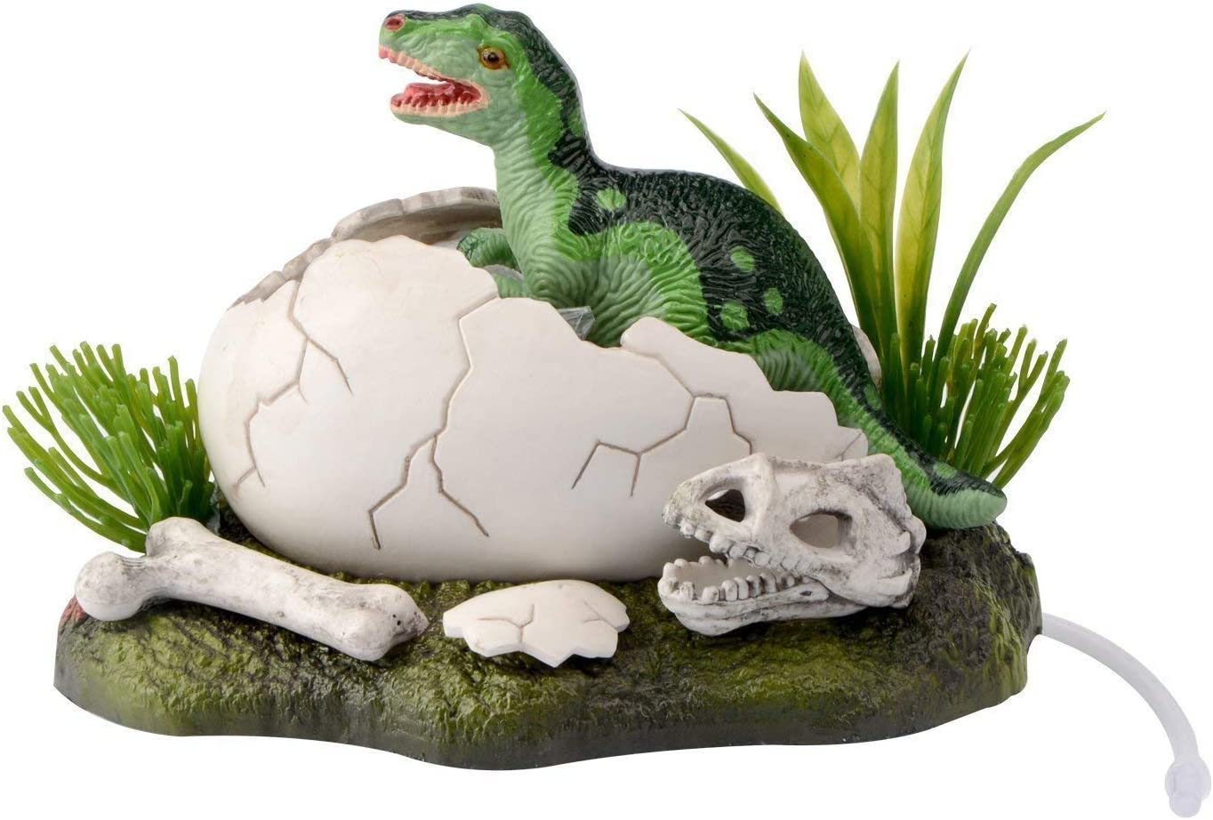 Saim New Born Baby Dinosaur Live Action Aquarium Ornament Fish Tank Decoration