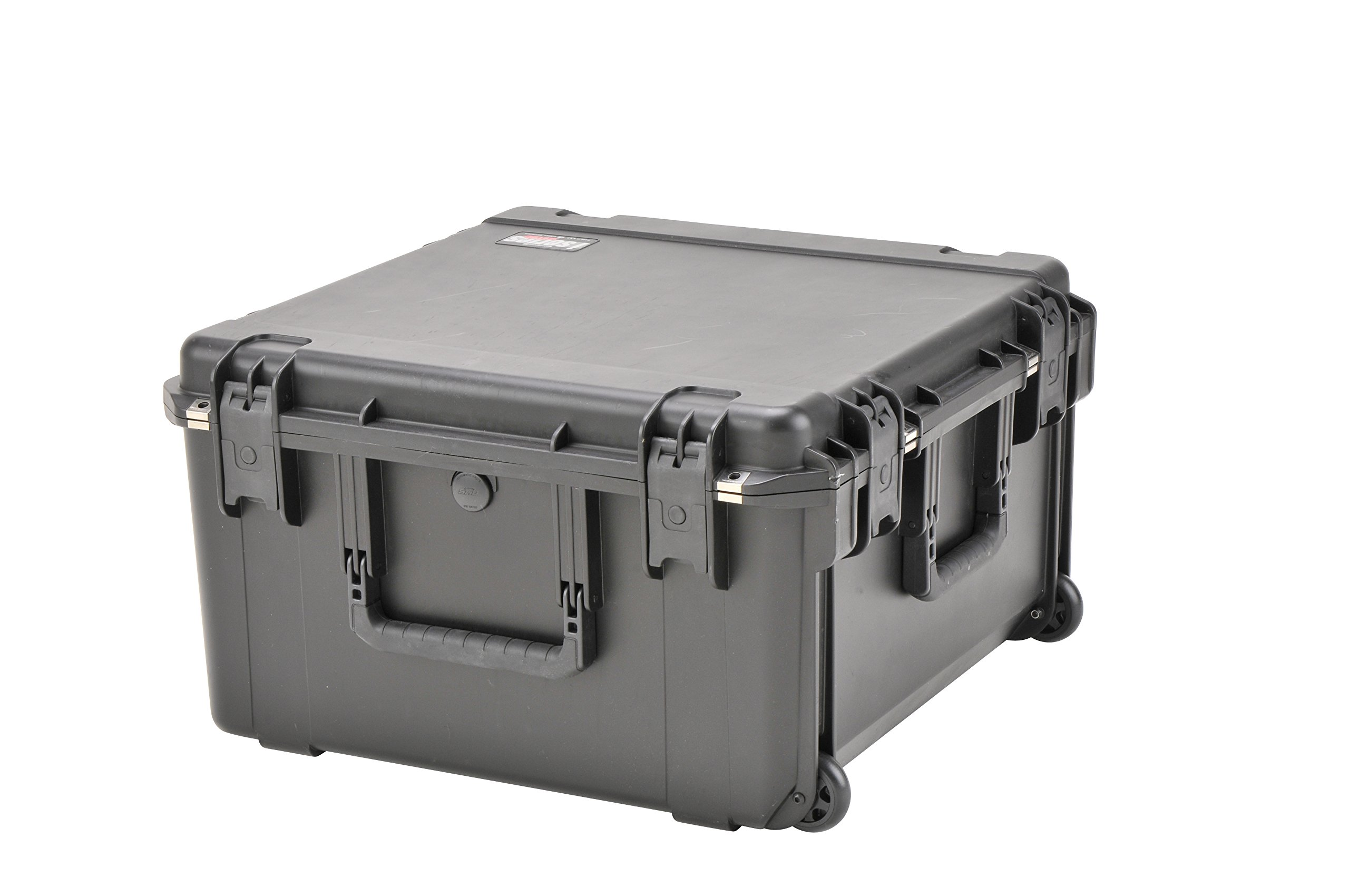 SKB Injection Molded Water-tight Case 22 x 22 x 12 Inches with wheels (3I-2222-12BE)